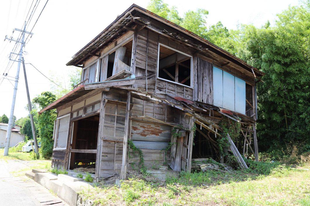 廃墟と化した空き家