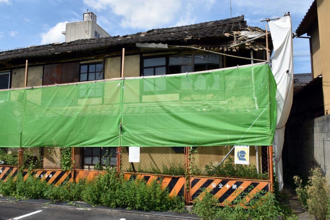 空家等対策の推進に関する特別措置法に指定された家