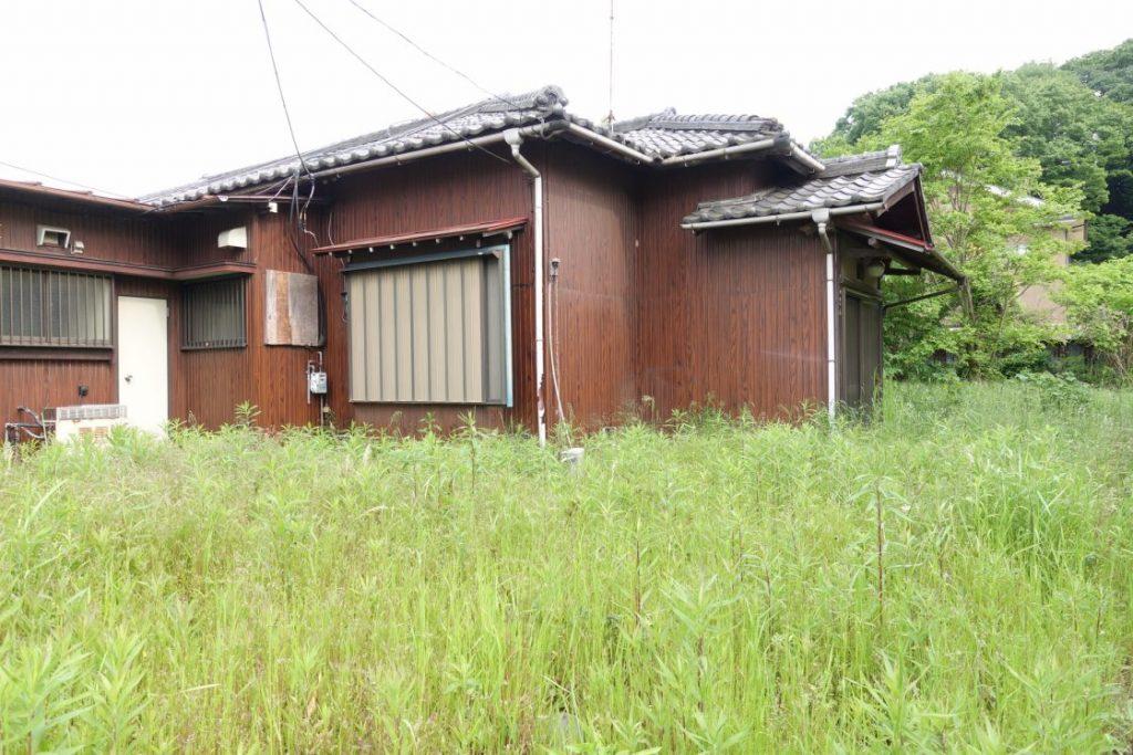 放置されている空き家