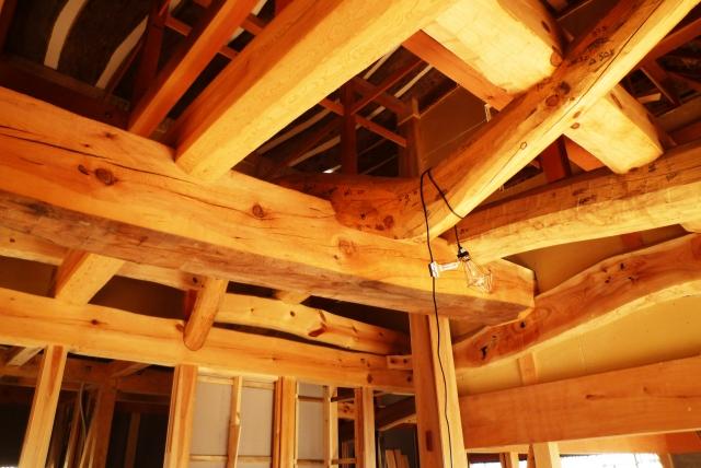 屋根 支柱